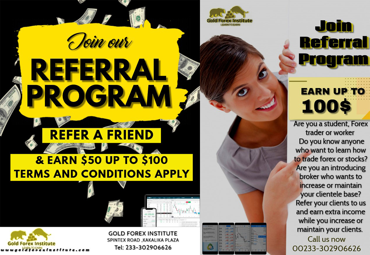 Referrals of Gold Forex